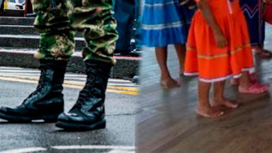 Pueblos indigenas se pronuncian sobre violación de niña Embera por militares colombianos