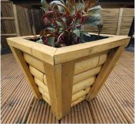 A mi manera maceta de bamb f cil de hacer - Macetas con bambu decoracion ...