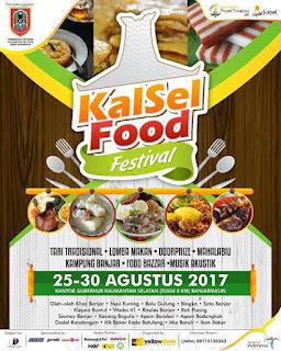 Festival Budaya Pasar Terapung 2017: Siap Manjakan Wisatawan dan Pecinta Kuliner