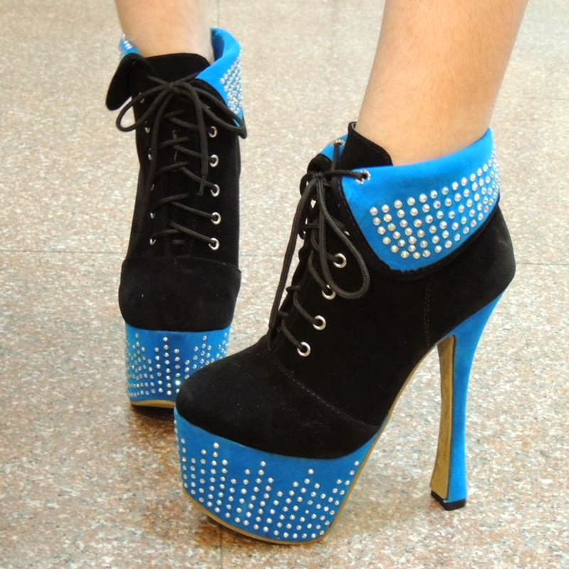 whats new in high heel shoes for women from the winter