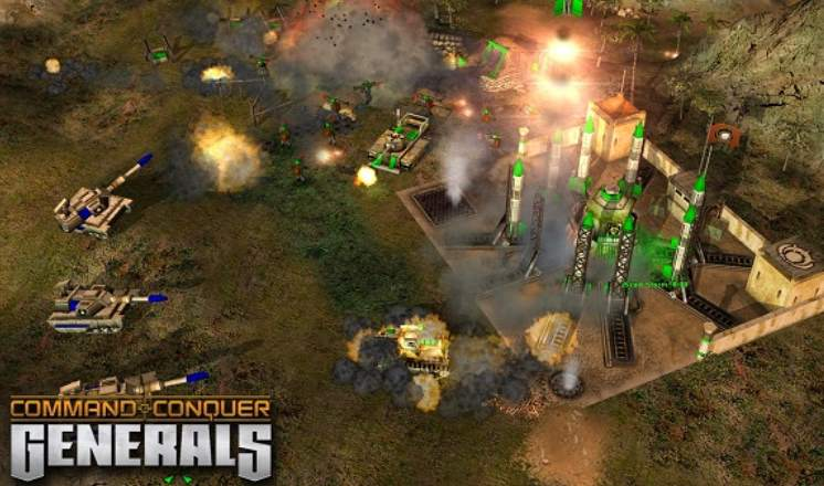 Command and Conquer Generals Deluxe Edition PC Full Español