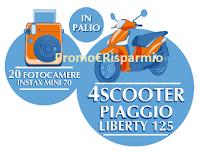 Logo Acqua Panna: Vinci 20 fotocamere e 1 scooter Piaggio
