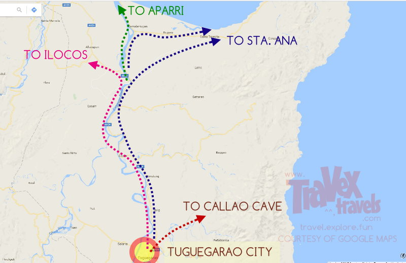 Cagayan Philippines Map.How To Go To Sta Ana Aparri Tuguegarao In Cagayan With Maps