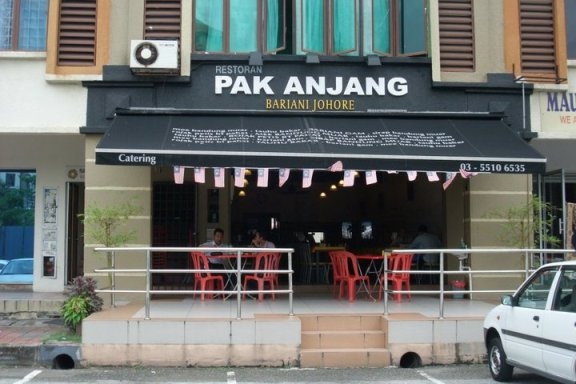 Pak Anjang Bariani Johore Tempat makan best di shah alam