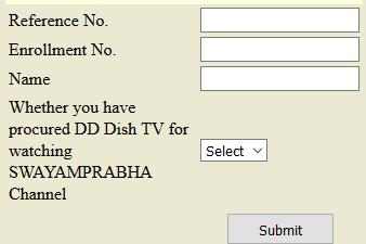 Process to Add DD Dish TV Details in NIOS website