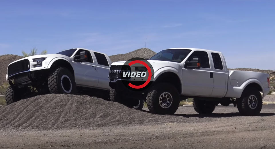 Ford Raptor Engine The Ford F-250 MegaRaptor Is For Those That Always Need More