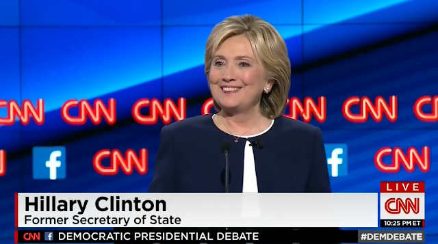 Hillary Clinton first woman president debate answer CNN