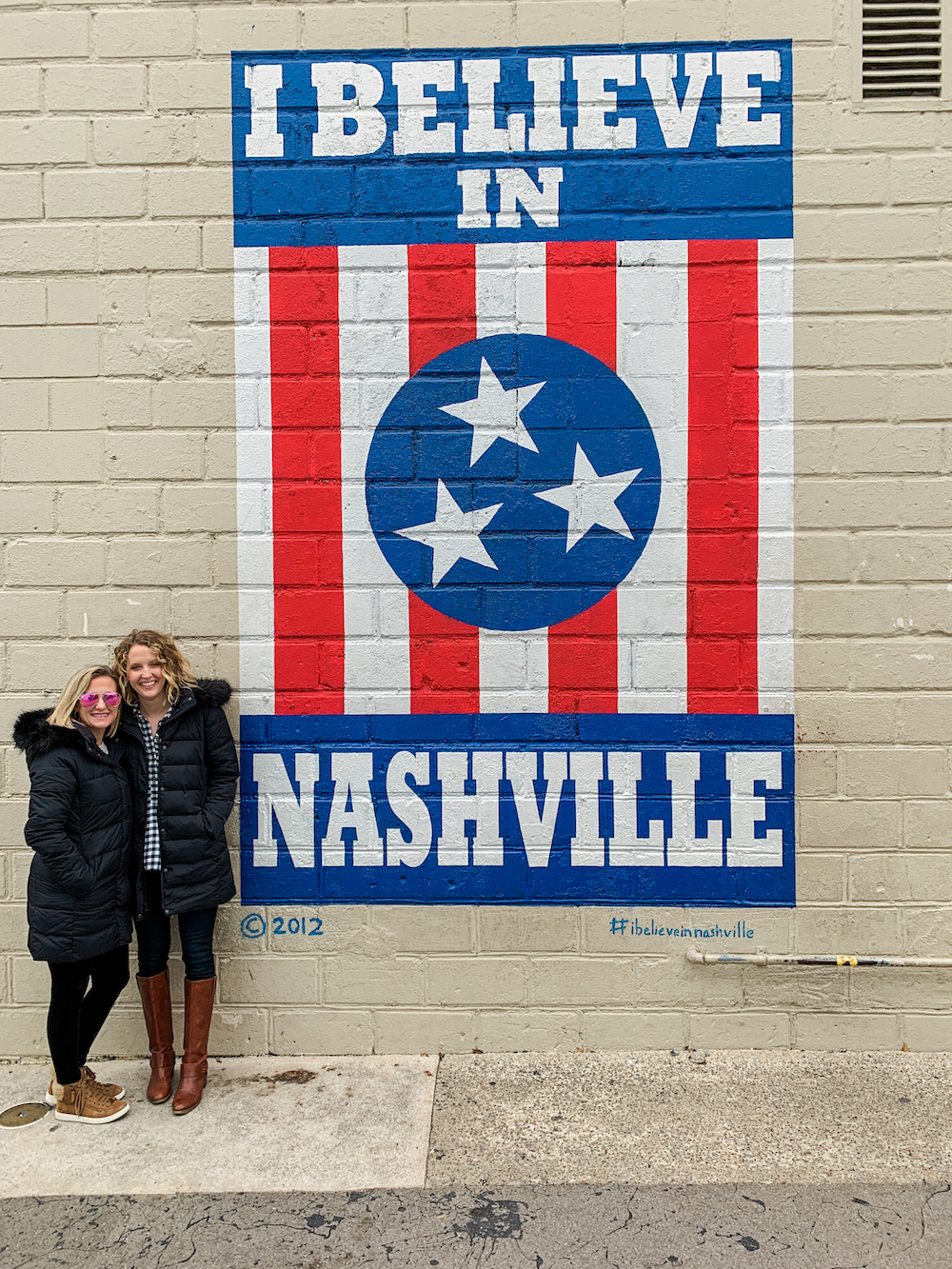 Nashville travel guide, Nashville Tennessee travel guide, Nashville restaurants, what to do in Nashville, Nashville airbnb, Nashville hotel, Nashville girls weekend, Nashville bachelorette party, what to do in Nashville, Nashville murals, I believe in Nashville mural, where to eat in Nashville, Nashville's best restaurants, HOTELette Nashville