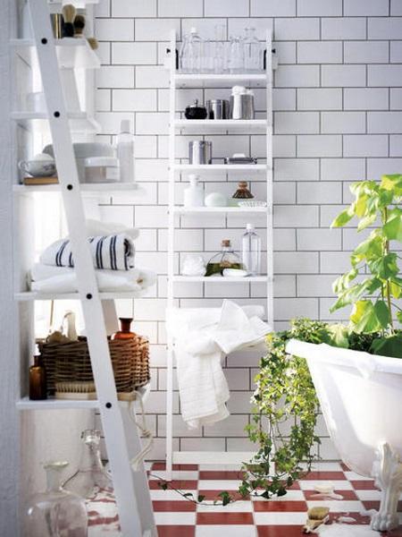 M veis e acess rios para casas de banho pequenas - Ikea scaletta bagno ...