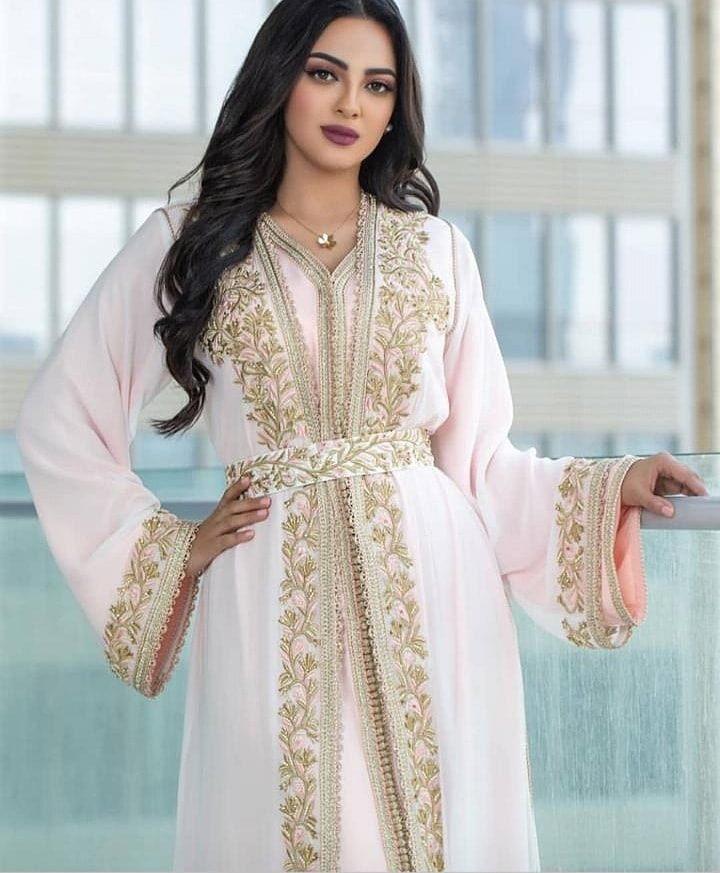 0ef844a73fc Vente Caftan Marocain de Luxe - Collection Ramadan 2019 - Caftan ...