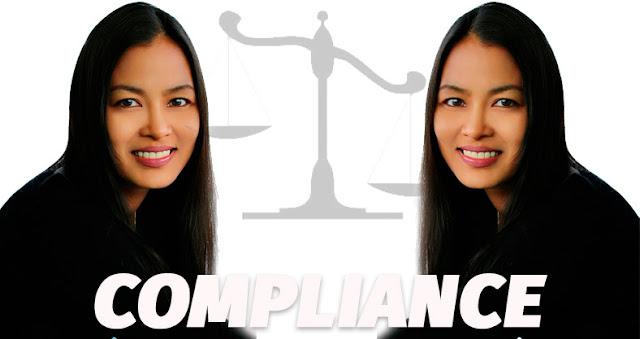 Grafismo Gemelas Simbolo de la justicia Compliance