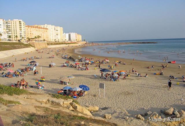Playa de Santa María del Mar de Cádiz
