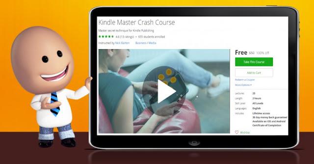 [100% Off] Kindle Master Crash Course| Worth 50$
