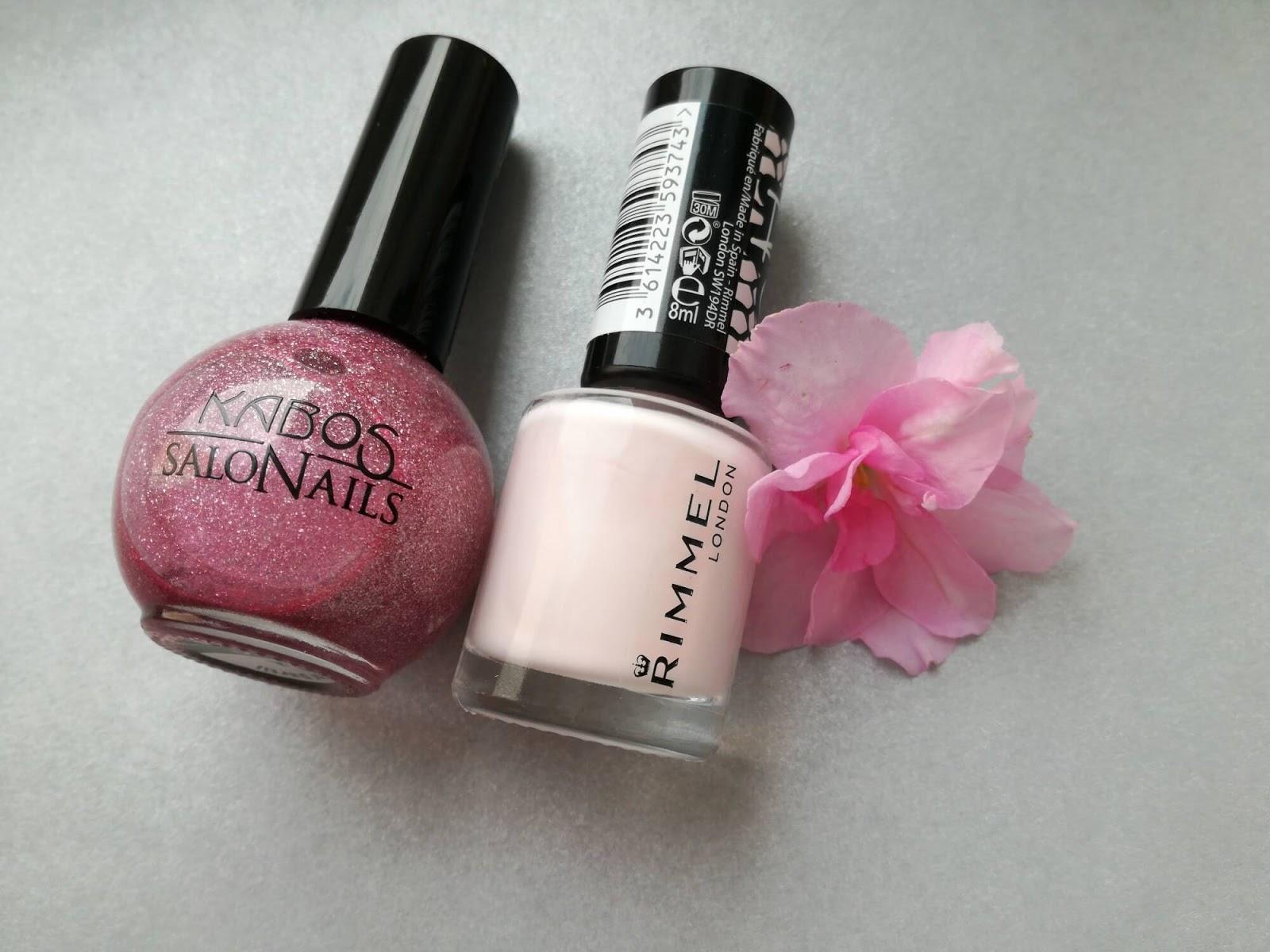 różowe lakiery