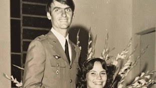 Bolsonaro e Ex esposa