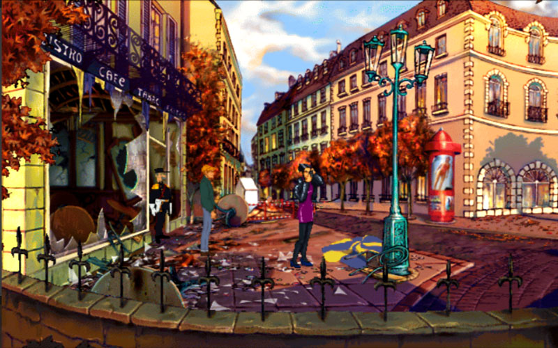 Broken Sword Captura de pantalla 1