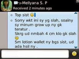 Testimoni GROW UP USA ORIGINAL (Peninggi Badan)