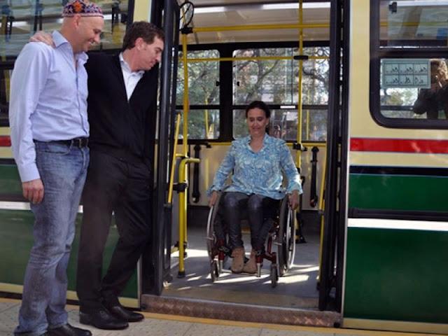 Transporte público para deficientes físicos em Córdoba