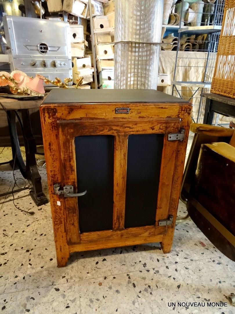 L 39 atelier de philippe ancienne glaci re en bois - Glaciere ancienne ...
