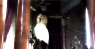 Assustador: vídeo mostra estátua de Jesus Cristo abrindo os olhos