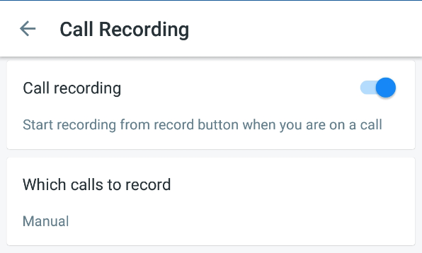 How to use automatic call recording on Truecaller?