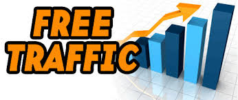 Claim free traffic to our blog
