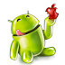 Android Eat Apple For Facebook Cover Profile Timeline Background
