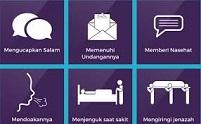 Ketahuilah Ada 6 Kewajiban Muslim Terhadap Muslim Lainyanya