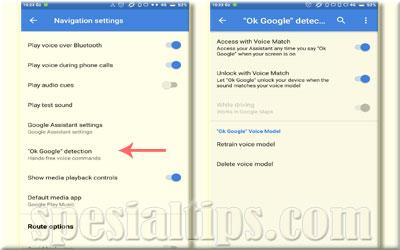 """Aktifkan Pengaturan """"OK Google"""" Detection"""