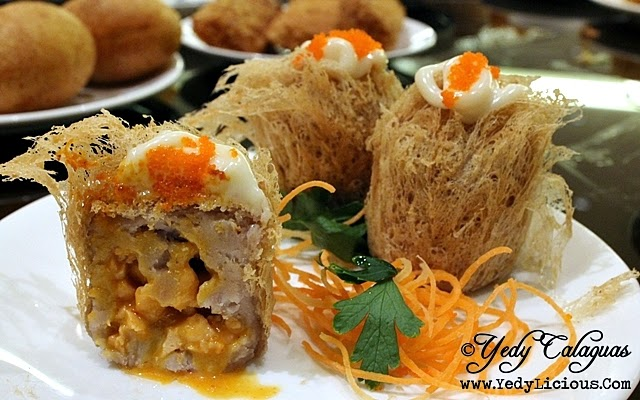 Fried Salmon Taro Puff Dimsum Eat-All-You-Can at The Phoenix Court of The Bellevue Manila
