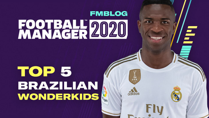 FM20 - Top 5 Wonderkids From Brazil