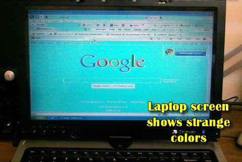 Cara Analisa Dan Perbaikan Layar Lcd Laptop Yang Berubah Warna