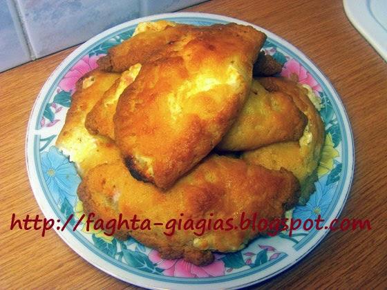 Αφράτα τυροπιτάκια γιαουρτιού - Τα φαγητά της γιαγιάς