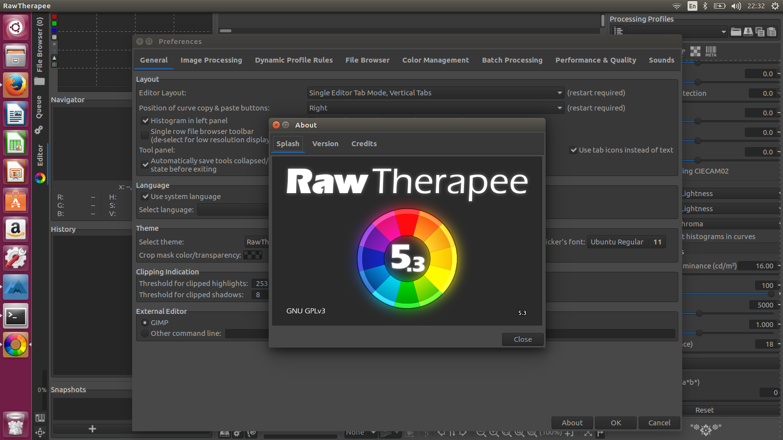 How to install program on Ubuntu: How to Install RawTherapee