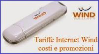 wind: le tariffe per internet in mobilità