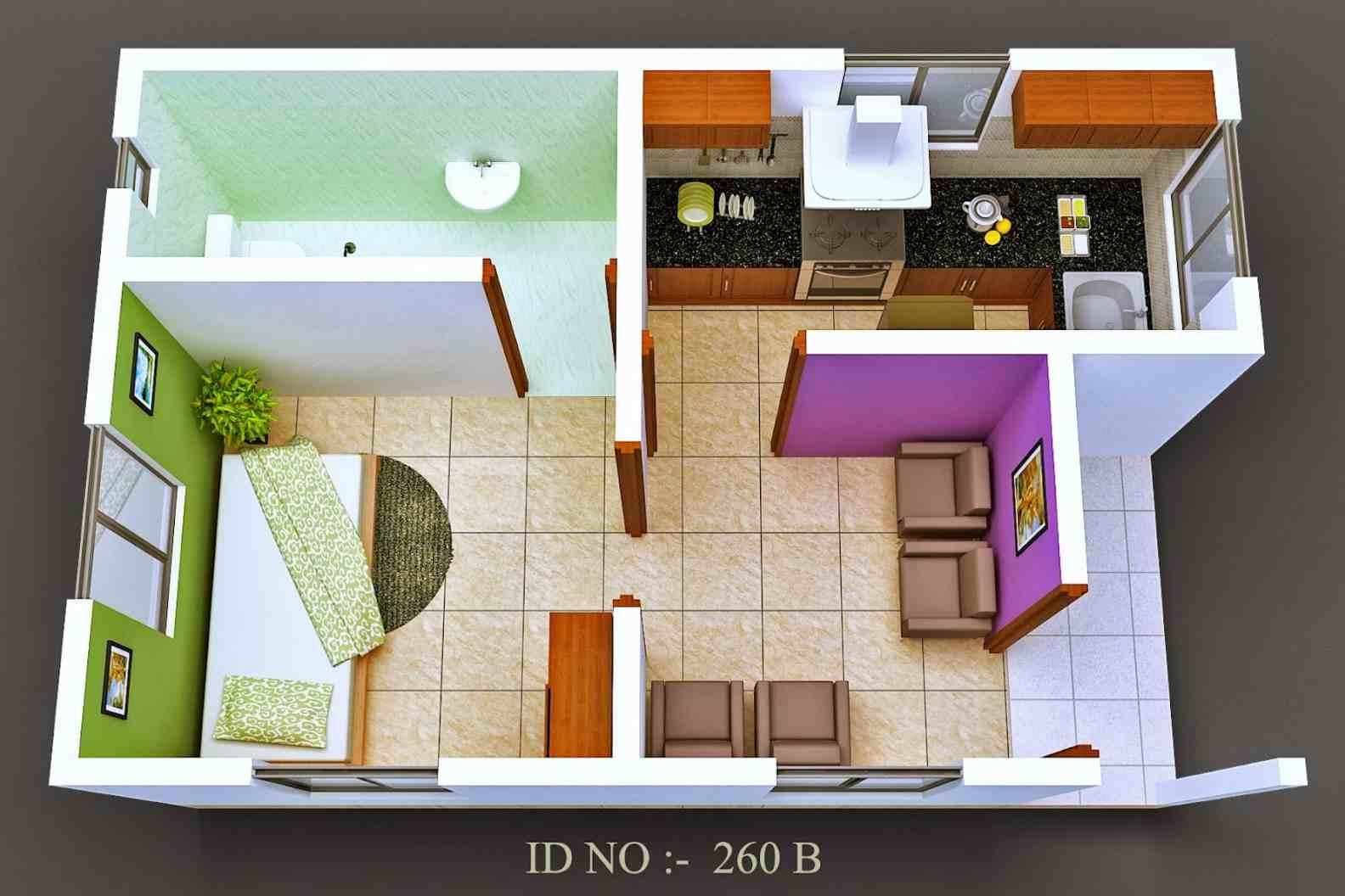Top Denah Rumah Unik Type 36 2 Lantai