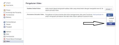kali ini saya membagikan isu mengenai  Cara Praktis Nonaktifkan Putar Video Otomatis pada Facebook