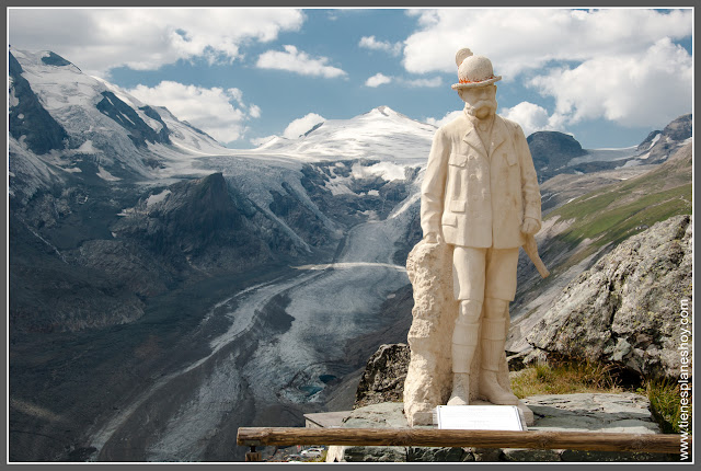 Carretera alpina de Grossglockner Glaciar Pasterze (Austria)