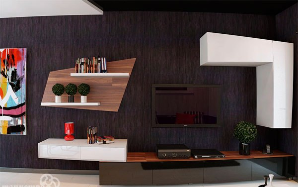 Home decor modern tv wall ideas for House get dizain