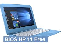 Bios Laptop HP 11 Free Download