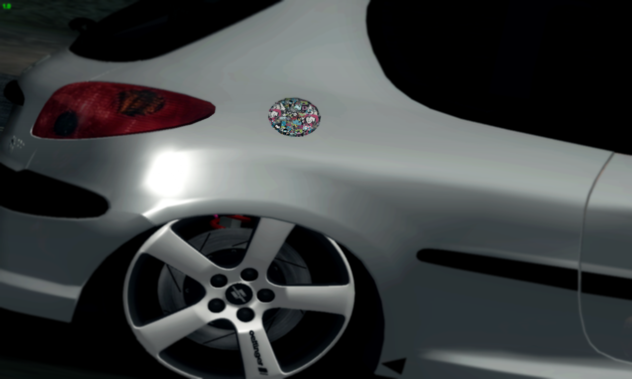 Gta Auto Mods Sa Peugeot 206 Edi 231 227 O Por Kond 3d
