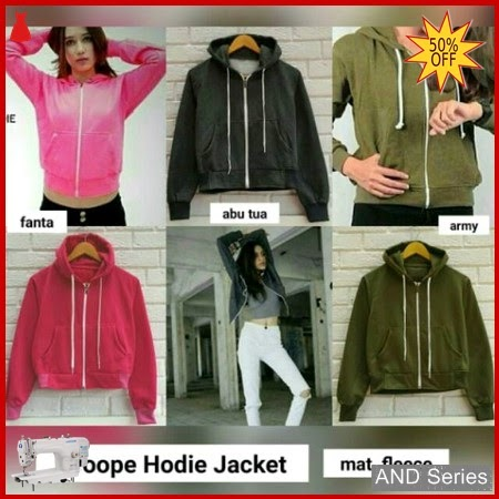AND109 Jaket Wanita Croope Hoodie Jacket BMGShop