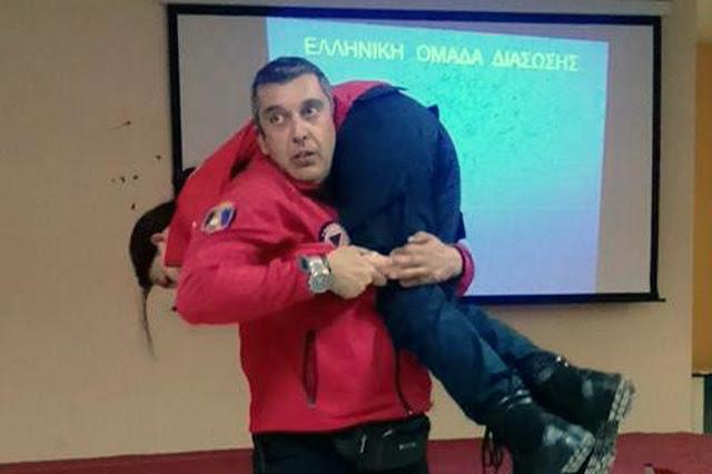 Άσκηση αντιμετώπισης σεισμού στο Δ.ΙΕΚ Ναυπλίου από την Ελληνική Ομάδα Διάσωσης Αργολίδας