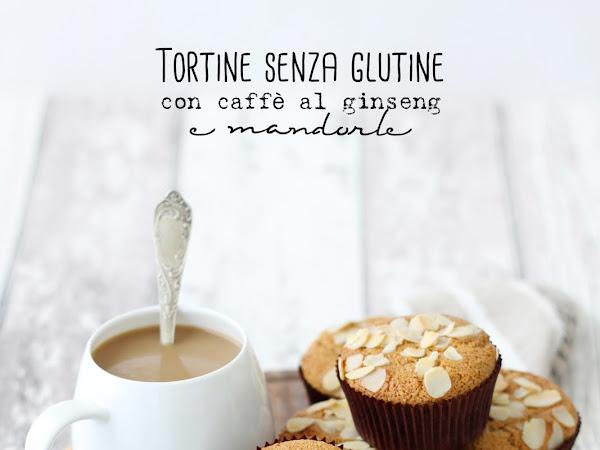 Tortine senza glutine alle mandorle e caffè al ginseng