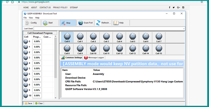 QGDP Tool Assembly v3.1.9 (Flash Tool) Download By Gsmpagla