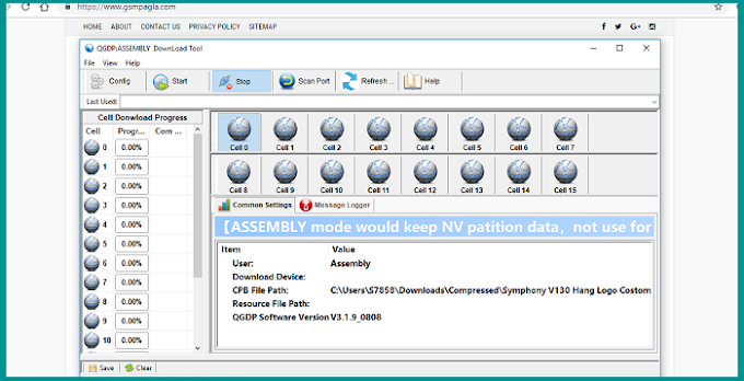 QGDP Tool Assembly v3.1.9 (Flash Tool) Download