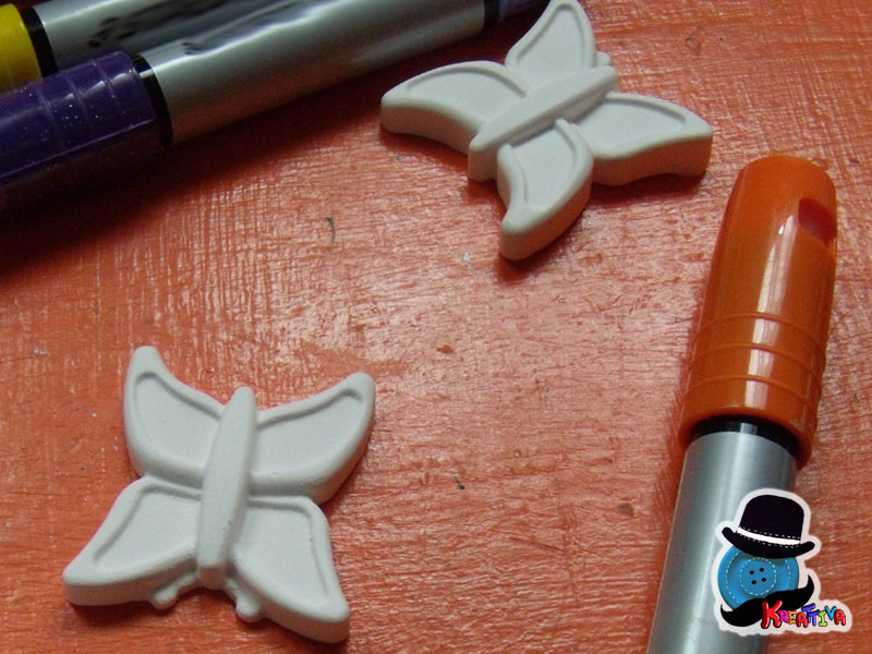 farfalla gesso ceramico