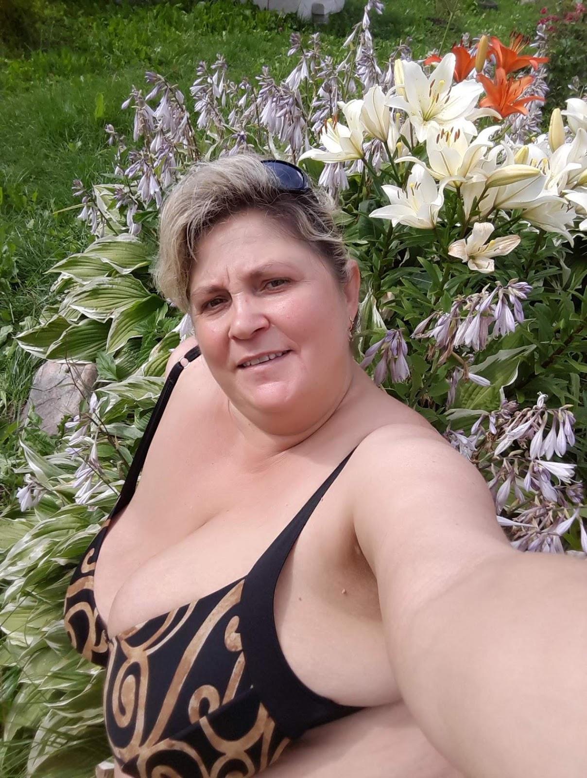 Толстая русская женщина в ебле