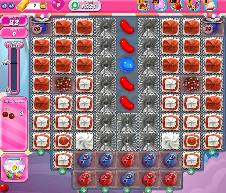 Candy Crush Saga 1521