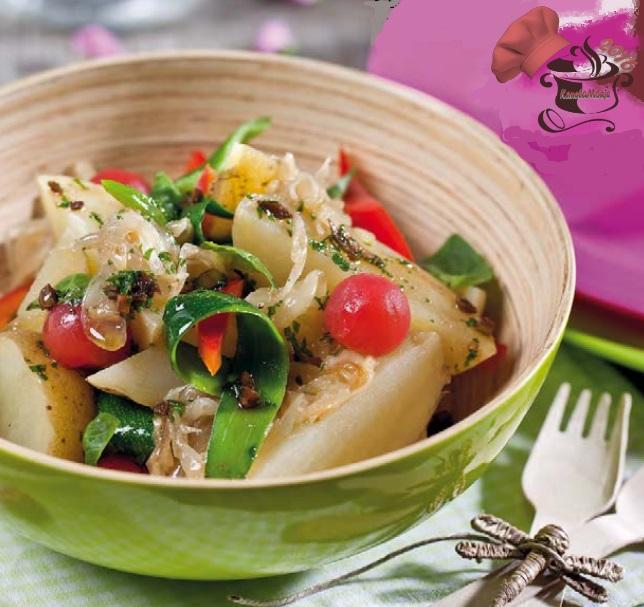 Ensalada de patatas con verduras